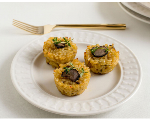 Truffle Risotto Appetizers